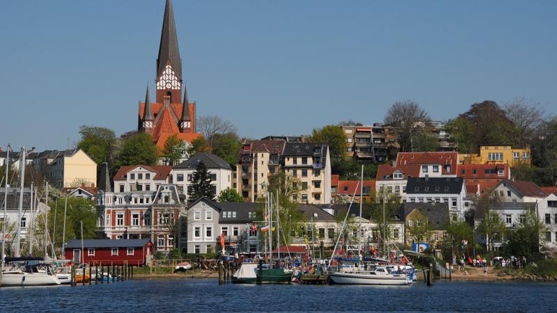 Flensburg med Römö och Sylt